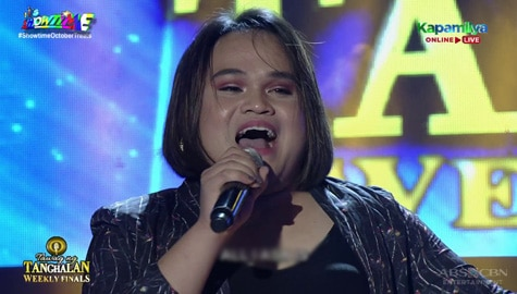 TNT Weekly Finals: Rachel Laylo receives a standing ovation from the hurados | Round 1 Image Thumbnail