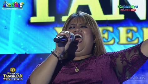TNT Weekly Finals: Rachel Laylo sings Whitney Houston's One Moment In Time | Round 2 Image Thumbnail