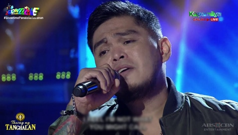 TNT 4: Carmelo Pacle sings Take Me Out Of The Dark | Round 2 Image Thumbnail
