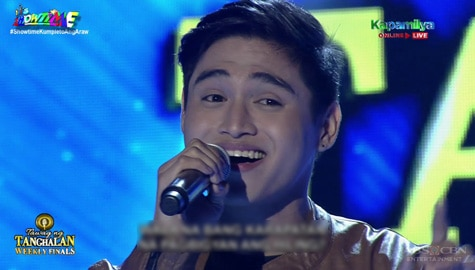 TNT Weekly Finals: Luis Gragera sings Heaven Knows | Round 2 Image Thumbnail