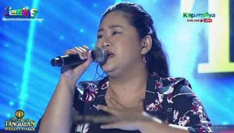 TNT Weekly Finals: Venus Pelobello sings Bituin Escalante's Kung Ako Na Lang Sana | Round 2 Image Thumbnail