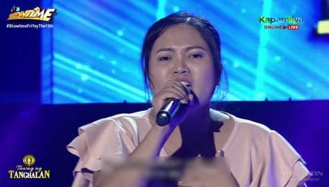 TNT 4: Argel Grace Salig sings Bakit | Round 1 Image Thumbnail