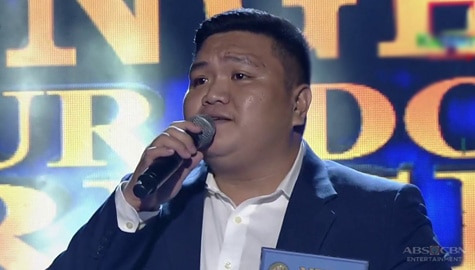 TNT 4 Hurado's Pick: Neil Collado sings We All Fall In Love Sometime Image Thumbnail