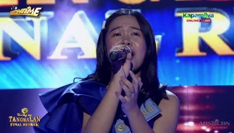 TNT 4 Final Resbak: Jessa Mae Gallemaso sings Sana Maulit Muli Image Thumbnail