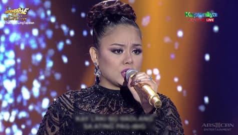 TNT 4 Huling Tapatan Final 3: Ayegee Paredes sings Rey Valera Medley Image Thumbnail
