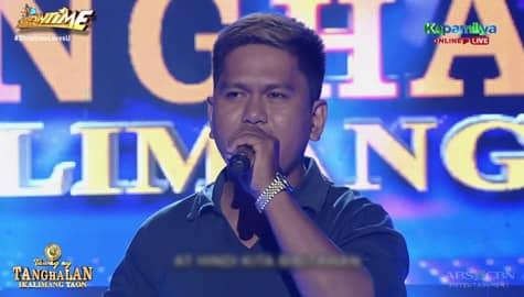 TNT 5: JC Flores sing Huwag Ka Nang Umiyak Image Thumbnail