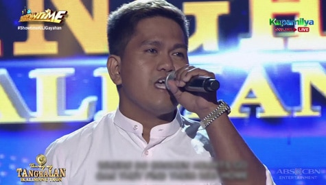 TNT 5: JC Flores sings Where Do Broken Hearts Go Image Thumbnail