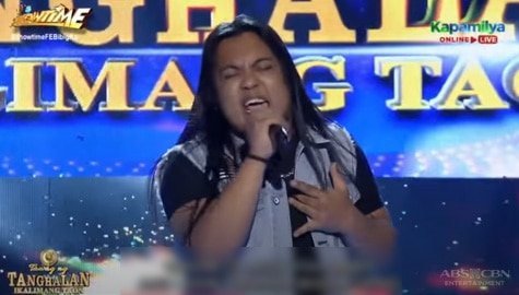 TNT 5: Froilan Cedilla sings Aerosmith's I Don't Want To Miss A Thing Image Thumbnail