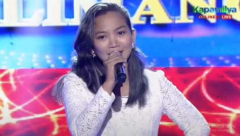 TNT 5: Eva Jamawan sings Lani Misslucha's Tunay Na Mahal Image Thumbnail