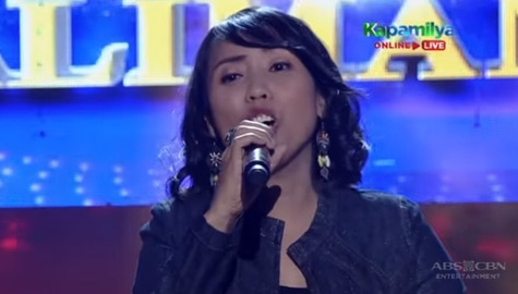 TNT 5: MJ Liwanag sings Ngayon At Kailanman Image Thumbnail