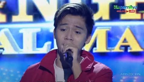 TNT 5: Jhoas Sumatra sings Pagbigyan Muli Image Thumbnail