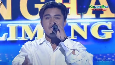TNT 5: Psalm Manalo sings Lucas Garcia's Because You Believed | Round 1 Image Thumbnail