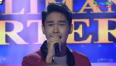 TNT 5 Quarterfinals: Reiven Umali sings Dahil Mahal Na Mahal Kita Image Thumbnail