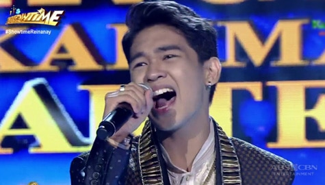 TNT 5 Quarterfinals Day 6: Reiven Umali sings Tayo'y Mga Pinoy Image Thumbnail
