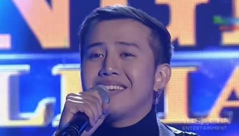 TNT 5: Anthony Castillo sings Ordinary People Image Thumbnail