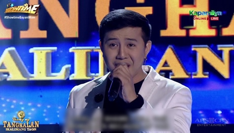 TNT 5: Anthony Castillo sings Because Of You Image Thumbnail