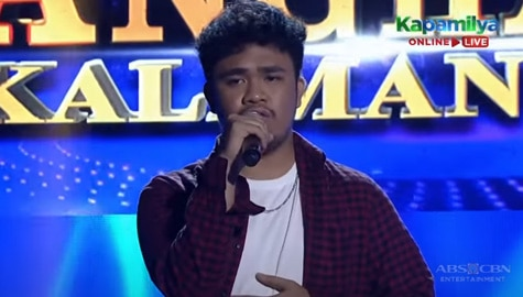 TNT 5: Adrian Manibale sings Maybe The Night | Round 1 Image Thumbnail