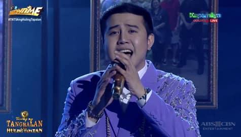 TNT 5 Grand Finals: Anthony Castillo sings SB19's MAPA Thumbnail