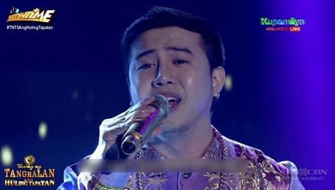 TNT 5 Huling Tapatan Final 3: Anthony Castillo gives heartfelt performance of Whitney Houston medley Thumbnail
