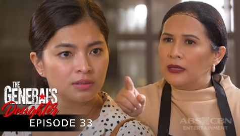The General's Daughter: Rhian, nagulat nang makita sa cooking class ni Corazon si Amelia | Episode 33 Image Thumbnail