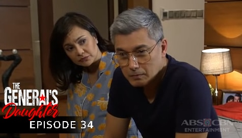 The General's Daughter: Marcial, nakiusap kay Corazon na layuan si Tiago | Episode 34 Image Thumbnail