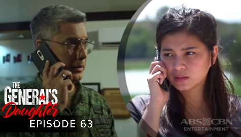 The General's Daughter: Rhian, ipinaalam ang plano ni Tiago kay Marcial | Episode 63