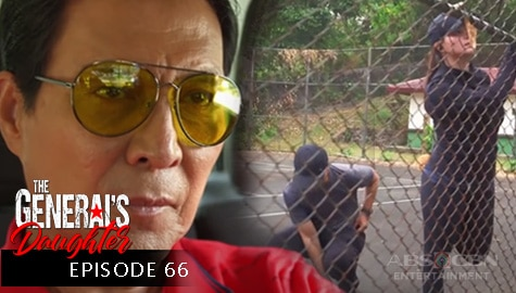 The General's Daughter: Tiago, nahuli ang pagkikita nina Marcial at Rhian | Episode 66 Image Thumbnail