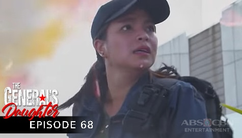 The General's Daughter: Rhian, itinakbo papalabas ng mall ang bomba ni Tiago | Episode 68 Image Thumbnail
