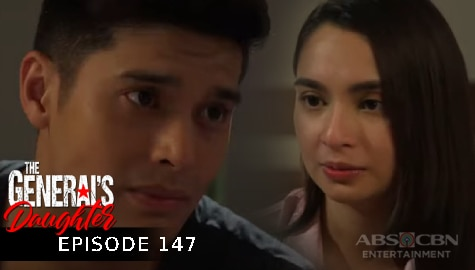 The General's Daughter: Jessie, pinaalalahanan si Ethan sa kanilang misyon kay Rhian | Episode 147 Image Thumbnail