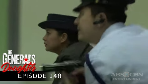 The General's Daughter: Rhian at Franco, naghintay para mapasok ang agency ni Zandro | Episode 148 Image Thumbnail