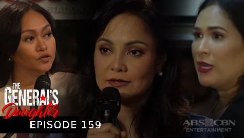 The General's Daughter: Amelia, siniraan ang paratang nina Corazon at Gabriela kay Tiago | Episode 159 Image Thumbnail