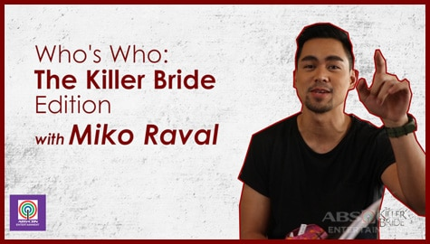 Bukingan Time with Miko Raval aka The Killer Bride's Fabio Image Thumbnail