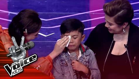 The Voice Kids Philippines 2019: Voice Coaches, pinagaan ang kalooban ni Reinier Image Thumbnail