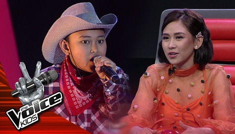 "Blind Auditions: Amierr Asilo excites everyone with his ""Achy Breaky Heart"" performance 