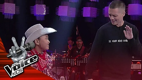 The Voice Kids Philippines 2019: Bamboo, nakipagsabayan ng sayaw kay Amierr Image Thumbnail
