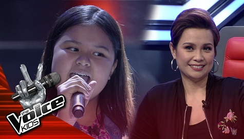 """Blind Auditions: Jahris Gabayan charms Judges with her """"Saranggola ni Pepe"""" performance 