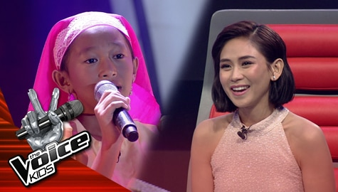 """Blind Auditions: Cleia Tadena touches Coaches' heart with her """"Oras Na"""" performance 