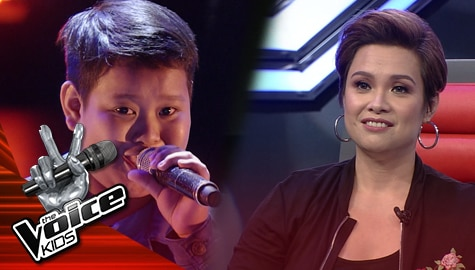 """Blind Auditions: Cedrick Ebe wows Coaches with his """"Ikaw Ang Aking Pangarap"""" performance 