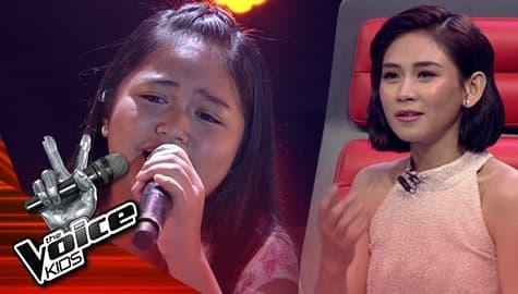 "Blind Auditions: Adah Leosala belts out Morissette's ""Akin Ka Na Lang"" | The Voice Kids Philippines 2019 Image Thumbnail"