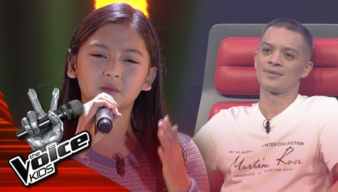 """Blind Auditions: Gabby Aromin charms Coach Bamboo with her """"Perfect"""" performance 