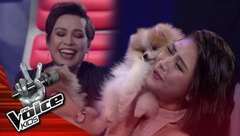 The Voice Kids Philippines 2019: Coach Sarah at Lea, natuwa nang makita ang pet ni Gaea Image Thumbnail