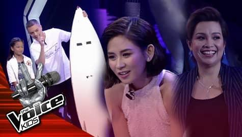 The Voice Kids Philippines 2019: Coaches, nagpasiklaban para makuha si Shekinah  Image Thumbnail