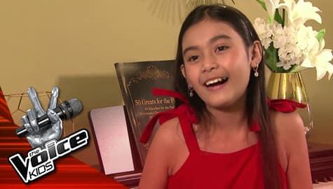 The Voice Kids Philippines 2019:  Gaea, ikinuwento ang simula ng kanyang pagkanta Image Thumbnail