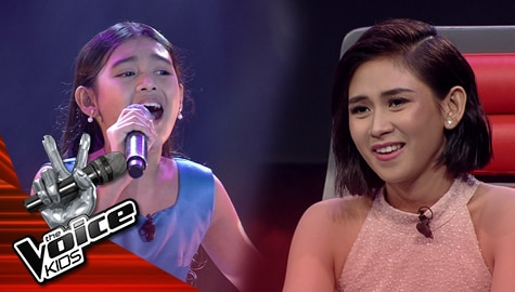 """Blind Auditions: Gaea Salipot amazes Coaches with her """"Ngayon At Kailanman"""" performance 