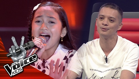 """Blind Auditions: Lovern Apa impresses Coaches with her heartfelt """"Ikaw Ay Ako"""" performance 