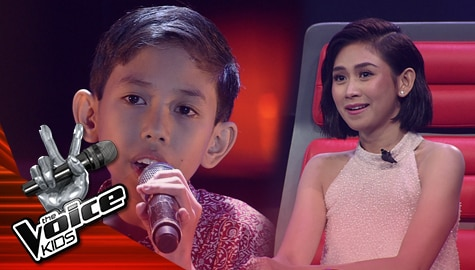 "Blind Auditions: Renz Aleguiojo stuns Coaches with his ""Bukas Na Lang Kita Mamahalin"" performance | The Voice Kids Philippines 2019 Image Thumbnail"