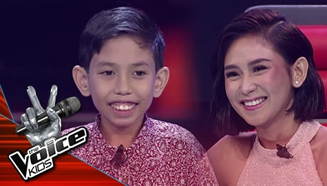 The Voice Kids Philippines 2019: Renz, pinili na mapasama sa Team Sarah Image Thumbnail