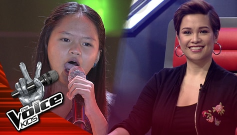 "Blind Auditions: BJ Clark amazes everyone with her  ""You And I"" performance 
