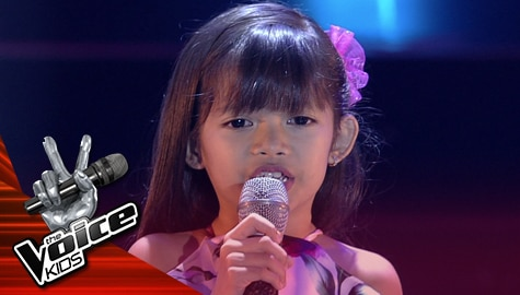 "Blind Auditions: KC Duran performs ""Kahit Ayaw Mo Na"" 