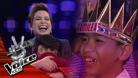 The Voice Kids Philippines 2019: Ced-ced, pinili na mapasama sa FamiLea Image Thumbnail